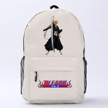 Bleach Theme Fighting Anime Series Backpack Schoolbag Daypack Bookbag Ichigo Bag
