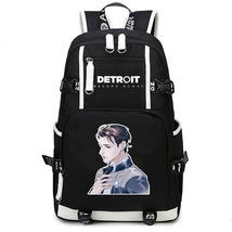 Detroit Become Human Backpack New Series Schoolbag Daypack Marcus Bag