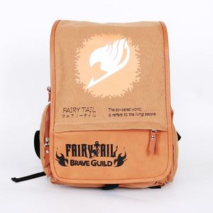 Fairy Tail Logo Schoolbag For Kids Back to School Backpack Daypack Bag