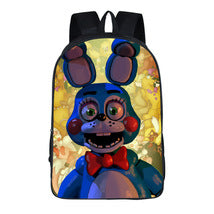 Five Nights at Freddy's Theme Backpack Schoolbag Daypack Bonnie Bag