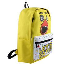 Five Nights at Freddy's Theme Backpack Schoolbag Daypack Bookbag Chica Bag