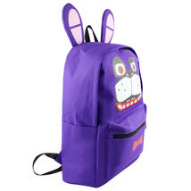 Five Nights at Freddy's Theme Backpack Schoolbag Daypack Bookbag Toy Bonnie Bag
