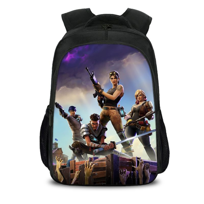 Fortnite Battle Royale All Soldier Pattern Backpack Schoolbag Bag