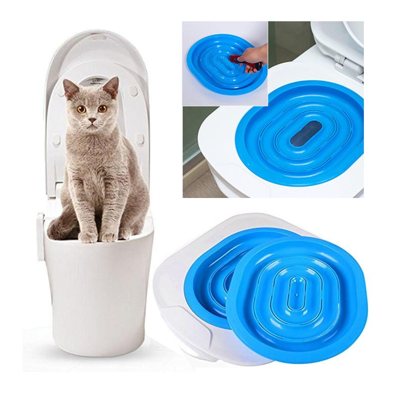 Cat Toilet Training Kit Litter Box Kitten Cat Litter Mat