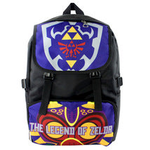 Legend of Zelda Series Backpack Schoolbag Daypack Bookbag Blue Scene Bag