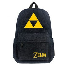 Legend of Zelda Series Backpack Schoolbag Daypack Bookbag Triangle Bag