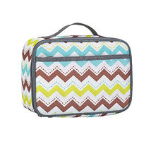 Lunch Box Series Pattern Theme Wave Pattern Lunch Bag
