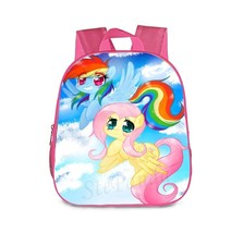 My Little Pony Schoolbag Theme Small Series Pink Rainbow Dash Bag
