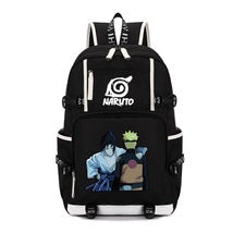 Naruto Theme New Series Backpack Daypack Schoolbag Sasuke Naruto Bag