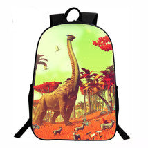 No Man's Sky Backpack Summer Series Daypack Schoolbag Dinosaur Bag
