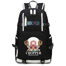 One Piece Theme Fighting Anime Series Backpack Schoolbag Daypack Chopper Bag