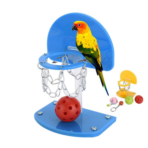 Parrot Puzzle Train Intelligence Development Toy Bird Shooting Basketball Toy