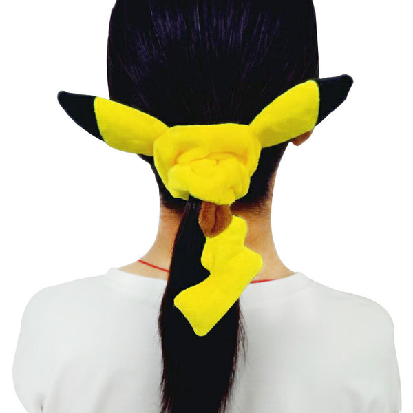 Pikachu Hair Ring Hair Rope Cute Headband Yellow