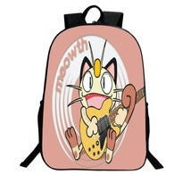 Pokemon Go Backpack Series Bookbag Daypack Schoolbag Meowth Bag