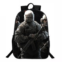 Rainbow Six Siege Backpack Series Daypack Schoolbag Spetsnaz Tachanka Bag