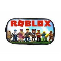 Roblox Backpack Package Series Schoolbag Lunch Box Pen Case Green Light