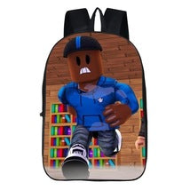 Roblox Theme Backpack Schoolbag Daypack Bookbag Running Man Bag