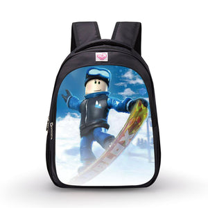 Roblox Theme Backpack Schoolbag Daypack Bookbag Ski Bag