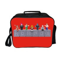 Roblox Theme Joy Series Lunch Box Lunch Bag Red Doll Team