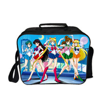 Sailor Moon Lunch Box Kid Lunch Bag Lunch Kit DecSer Team Five
