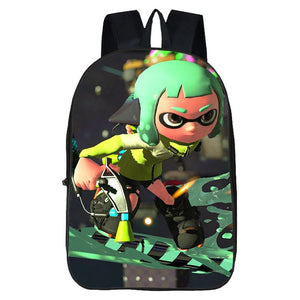 Splatoon 2 Regular Pattern Backpack For School Splatoon Schoolbag For Kids Bag