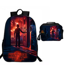 Stranger Things Backpack Package Special Series Lunch Box Daypack Pattern A Bag