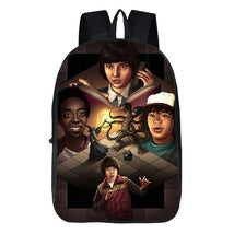 Stranger Things Theme Kids Backpack Daypack Schoolbag Wizard Bag