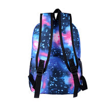 Stranger Things Theme Starry Sky Backpack Daypack Schoolbag Letters