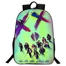 Suicide Squad Backpack Summer Series Daypack Schoolbag Family Three Bag