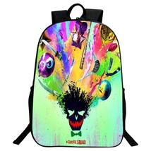 Suicide Squad Backpack Summer Series Daypack Schoolbag Pattern A Bag
