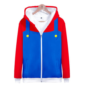 Super Mario Mario Zip-up Hoodie for Kids