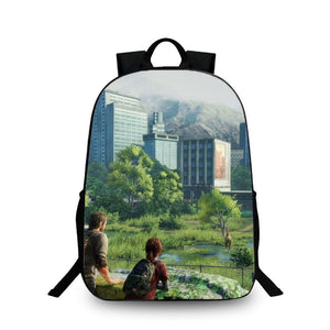 The Last of Us Remastered Backpack Schoolbag Bag