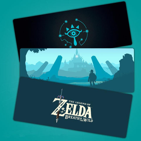The Legend of Zelda Breath of the Wild Gaming Extended Mouse Pad