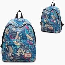 Touch Series 3D Pattern Backpack Schoolbag Daypack Bookbag Leisure Bag