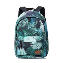 Touch Series 3D Pattern Backpack Schoolbag Daypack Bookbag Time Bag