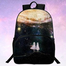Universe Theme Galaxy Series 3D Backpack Schoolbag Daypack Bookbag F Bag