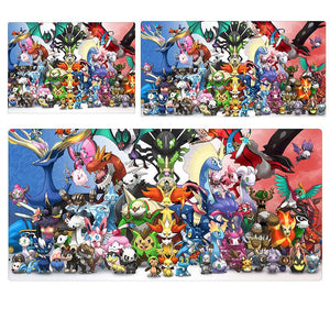 Pokemon All Pokemon Extended Mouse Pad Computer Desk Pad Mat 3 sizes