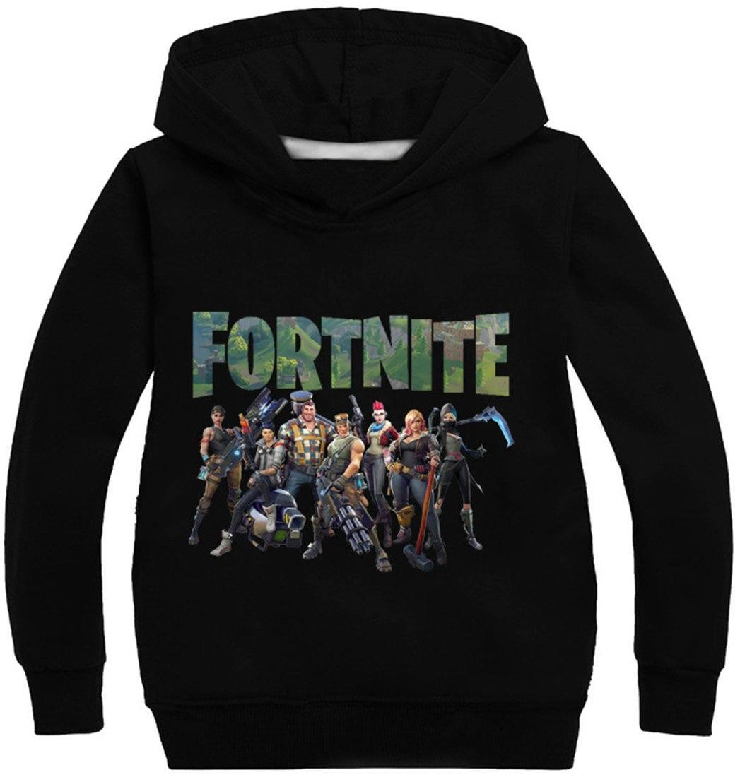2018 New Arrival Premium Fortnite Boys' Team 3D Printed Unisex Hoodies Novelty Kid's Sweatshirt