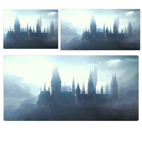 Harry Potter Hogwarts Castle Extended Mouse Pad Computer Desk Pad Mat 3 sizes