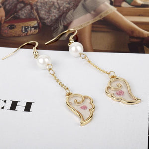 Angel Wings Sailor Moon Drop Earrings