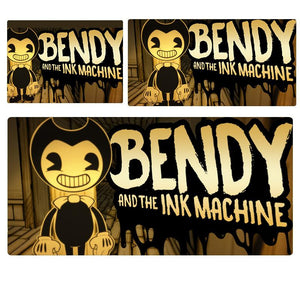 Bendy & The Ink Machine Dark Mouse Pad Computer Desk Pad Mat 3 sizes