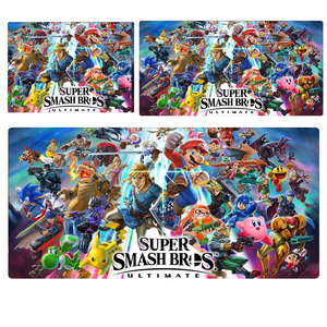 NS Super Smash Bros All Characters w/ Logo Extended Mouse Pad Computer Desk Pad Mat 3 sizes