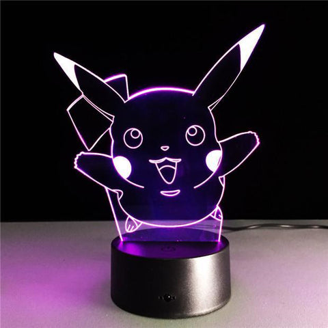 Pikachu - Pokemon Gaming Hologram