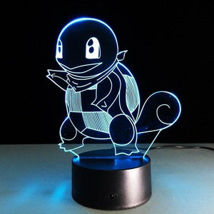 Squirtle - Pokemon Gaming Hologram