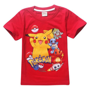 Pokemon Surfers - Softness Cotton T-Shirt