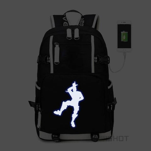 Take The L - Glowing Fortnite Battle Royale School Backpack