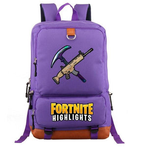 The Resources - Fortnite Battle Royale School Backpack