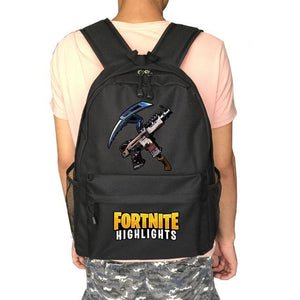 The Casual Miner - Fortnite Battle Royale School Backpack