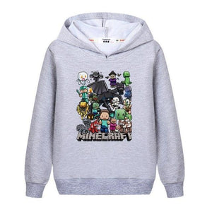 Minecraft Dimension - Premium Minecraft Cotton Hoodie