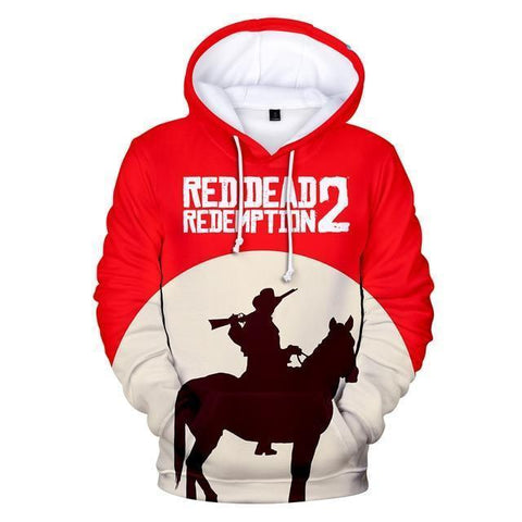 Redeemed - Red Dead Redemption 2 Cotton Hoodie